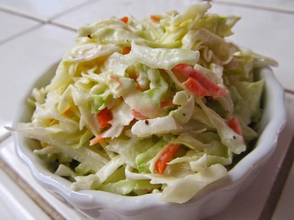 hardallı mayonezli lahana salatası