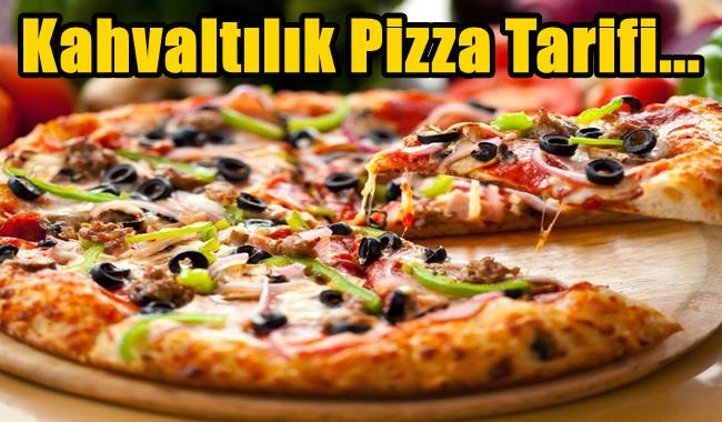kahvaltıda mantarlı pizza tarifi