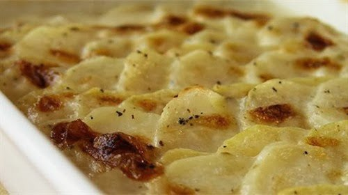 fırında mantarlı patates tarifi