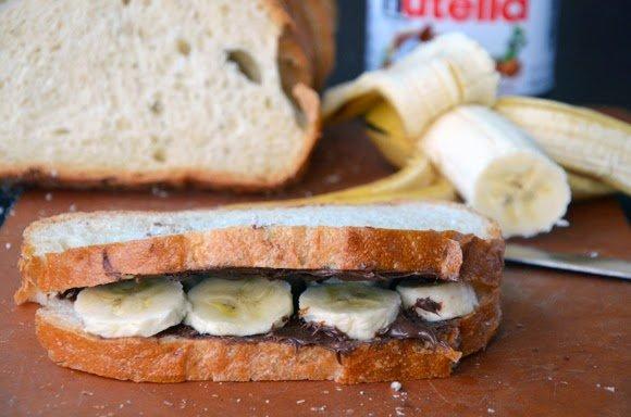 çikolatalımuzlu tost nasıl yapılır