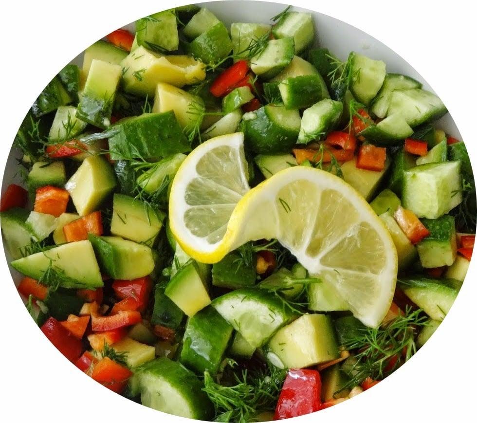 avokado salatası tarifi resimli