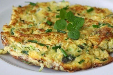 otlu omlet nasıl yapılır