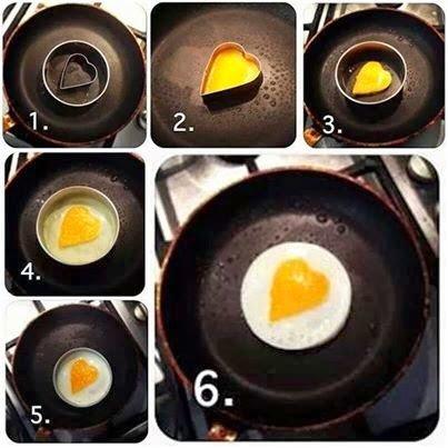 Kalp Yumurta tarifi nasıl yapılır