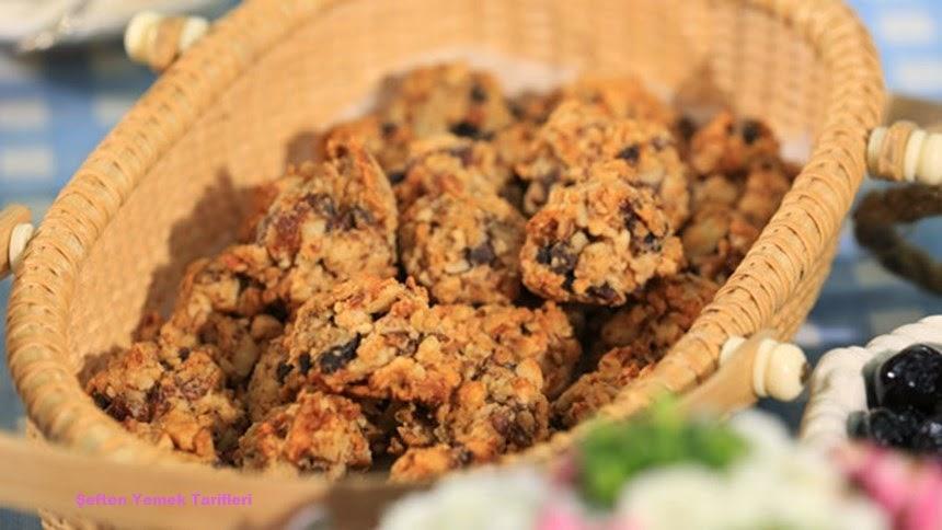 şekersiz kurumeyveli kurabiye tarifi