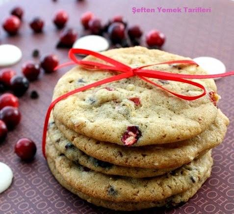 kızılcıklı kurabiye nasıl yapılır