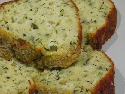 peynirli otlu kek nasıl yapılır