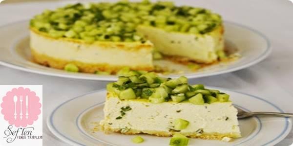 Salatalıklı Cheesecake Tarifi