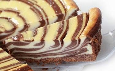 zebra cheesecake nasıl yapılır