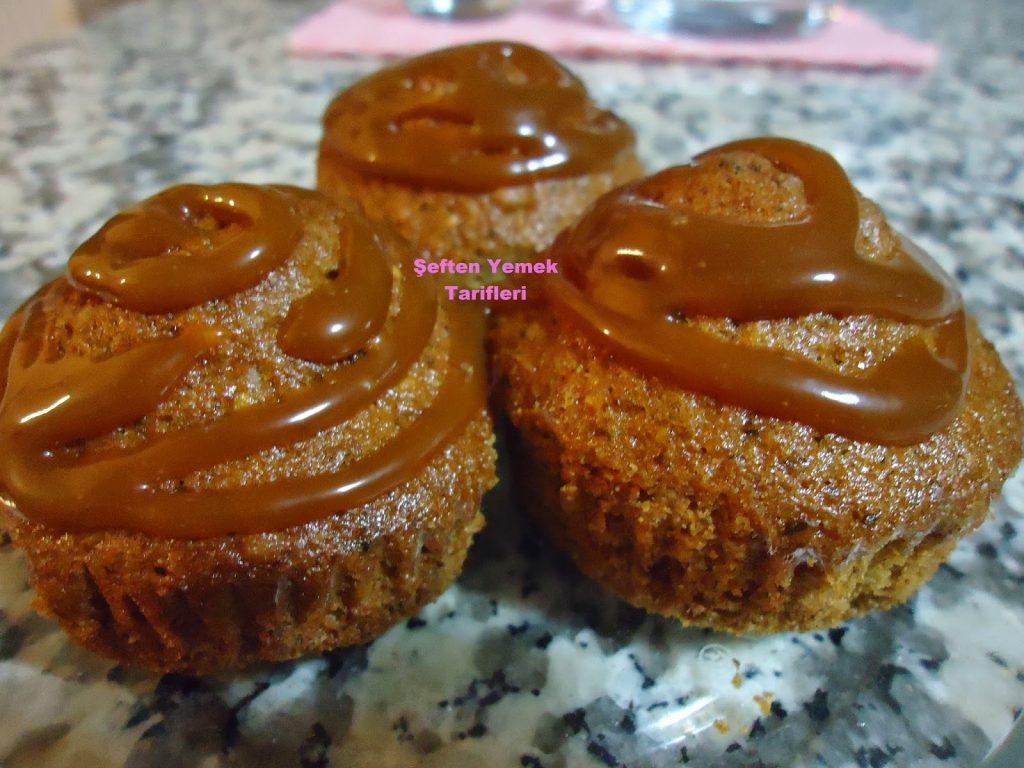 karamelli top kek nasılyapılır