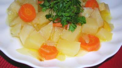 Portakallı Zeytinyağlı Kereviz Tarifi