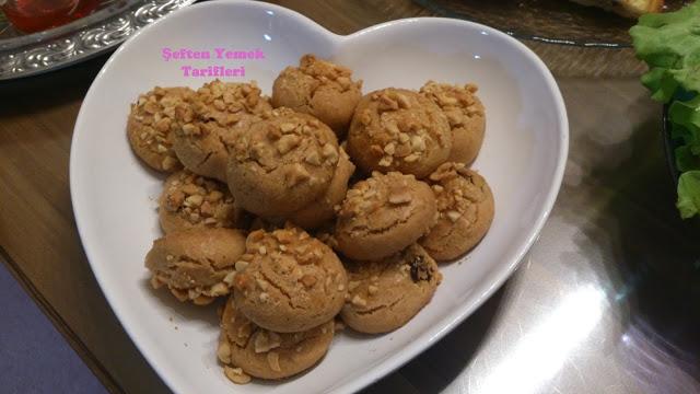 fıstıklı üzümlü kurabiye tarifi