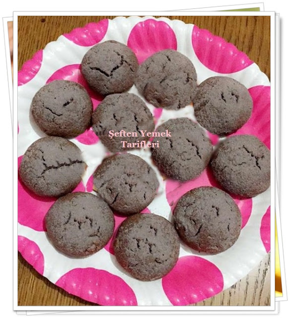 çikolatalı pudingli fındıklı kurabiye
