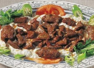 Etli Ali Nazik Kebabı Tarifi