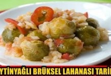 zeytinyağlı brüksel lahanası tarifi