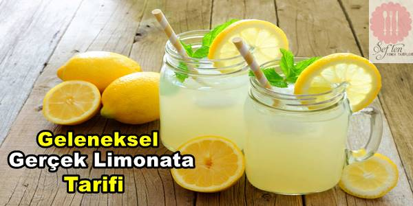 gerçek limonata tarifi
